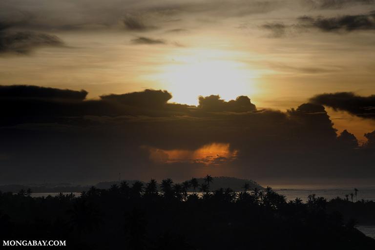 Sunrise off Cape Weligama