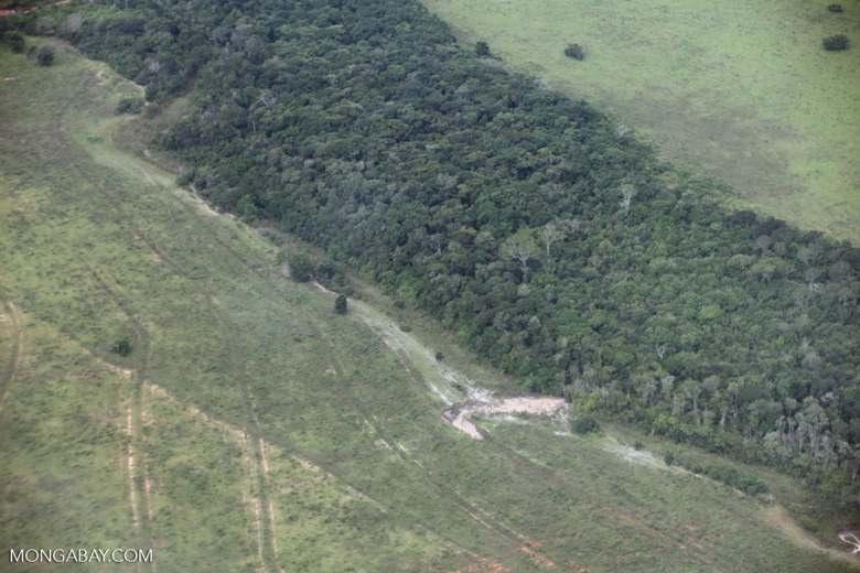 Scarred landscape in the Brazilian Amazon [brazil_0420]