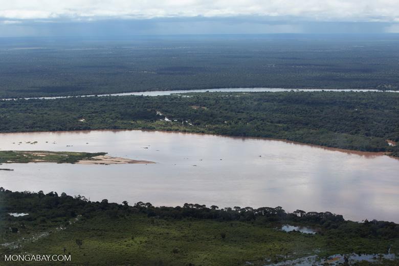 Aerial view of the Rio das Mortes [brazil_0804]