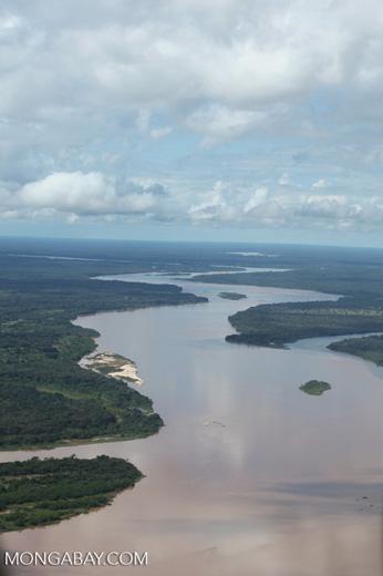 Aerial view of the Rio das Mortes [brazil_0805]