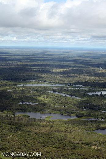 Aerial view of the Rio das Mortes [brazil_0813]