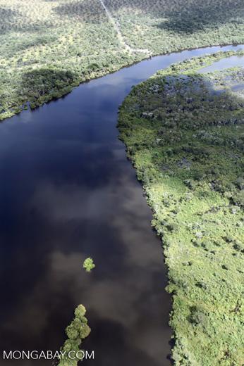 Aerial view of the Rio das Mortes [brazil_0823]