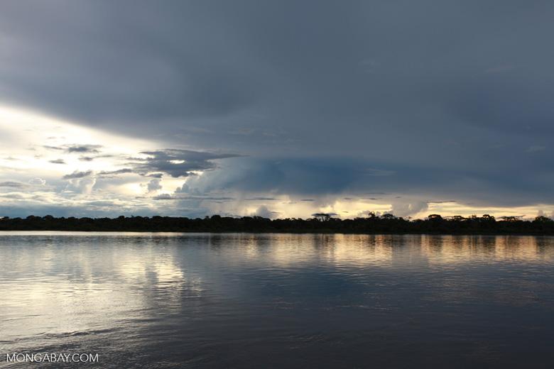 Sunset on the Rio das Mortes [brazil_1107]