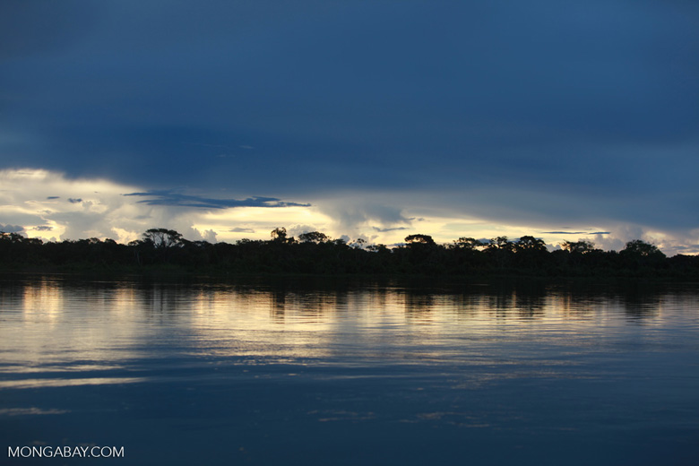 Sunset on the Rio das Mortes