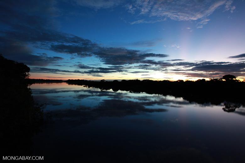 Sundown on the Rio das Mortes [brazil_1200]