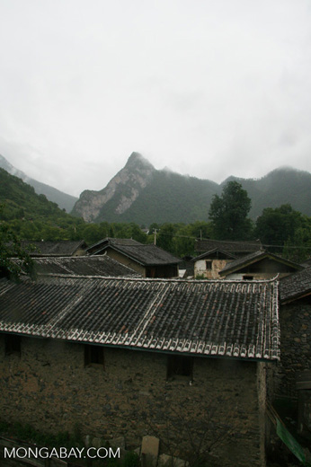 Village near Qizhong