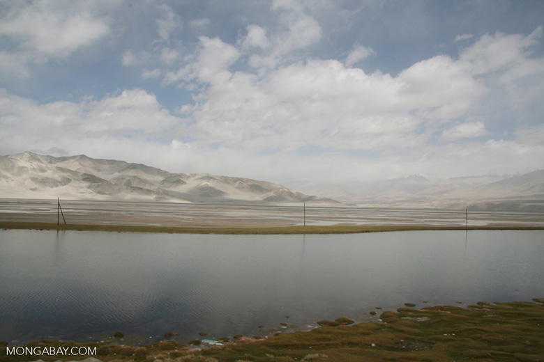 Pass in the Pamirs in western China