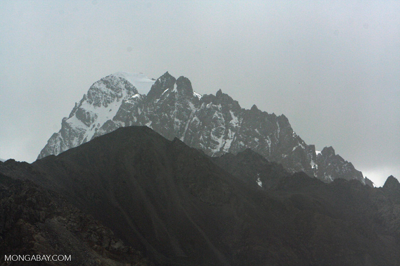 Mountain peak near Tashkurgan