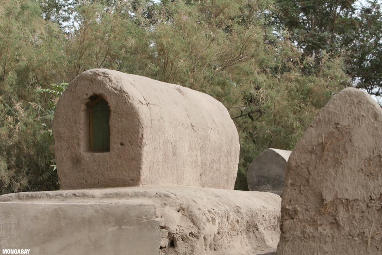 Uighur tomb in Yarkand