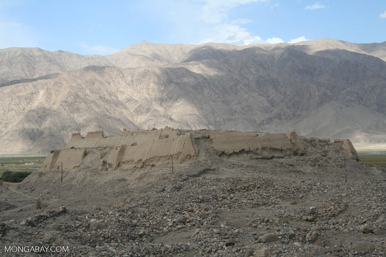 Tashkurgan fort in western China