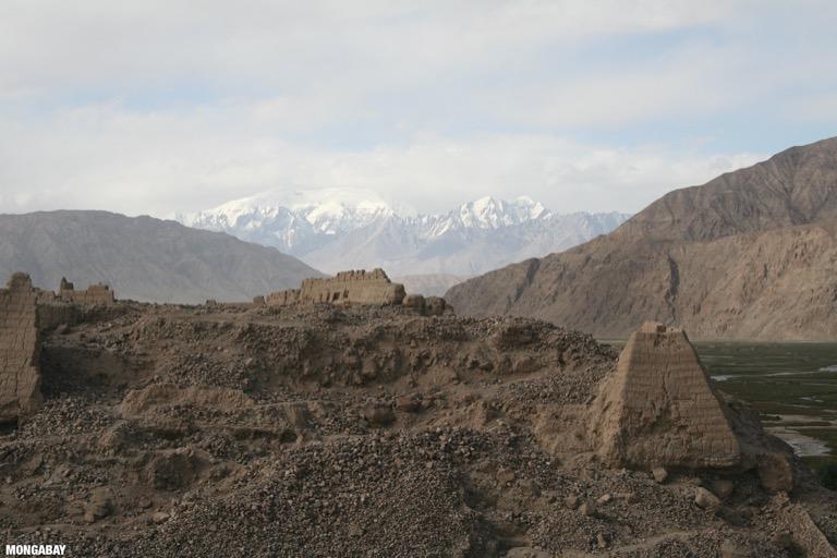 Tashkurgan fort, an important silk road trading point