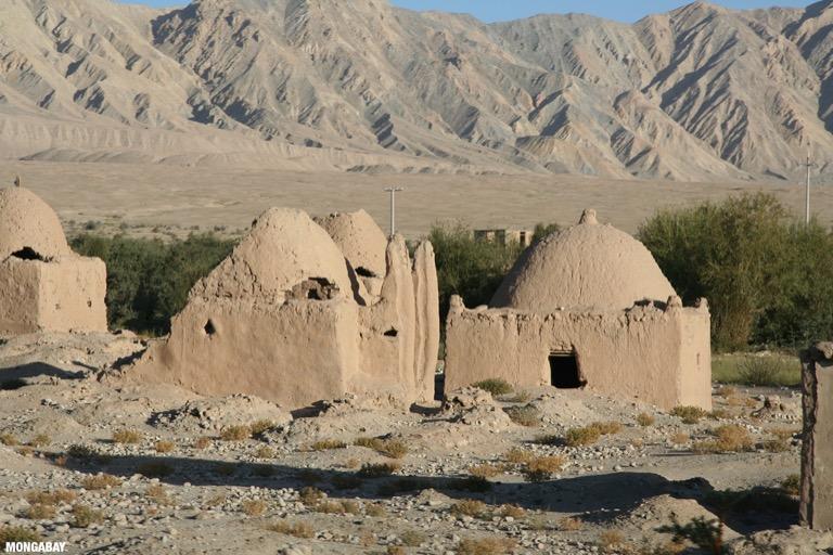 Tajik tombs outside of Tashkurgan