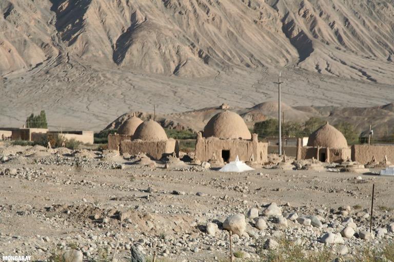 Tajik cemetery