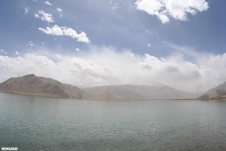 Karakul Lake in western China