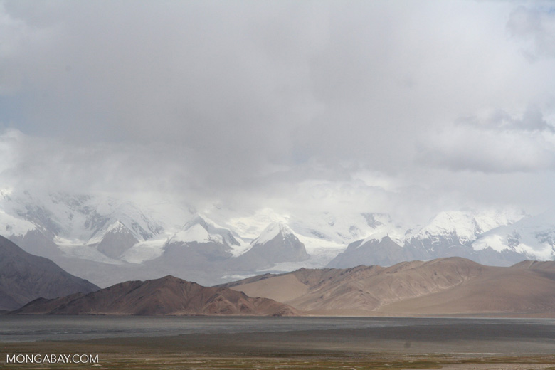 Pamir Mountains in Xinjiang