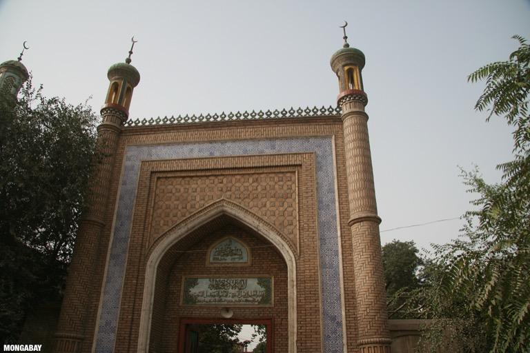 Altun mosque in Yarkand