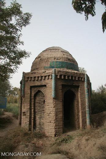 Tomb at the Tomb of Yarkand Kings in Yarkand