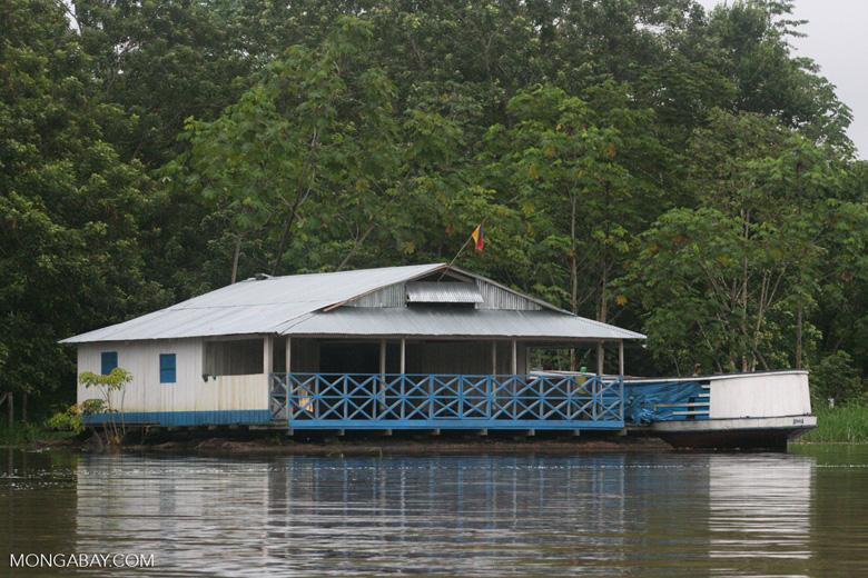Amazon floating house