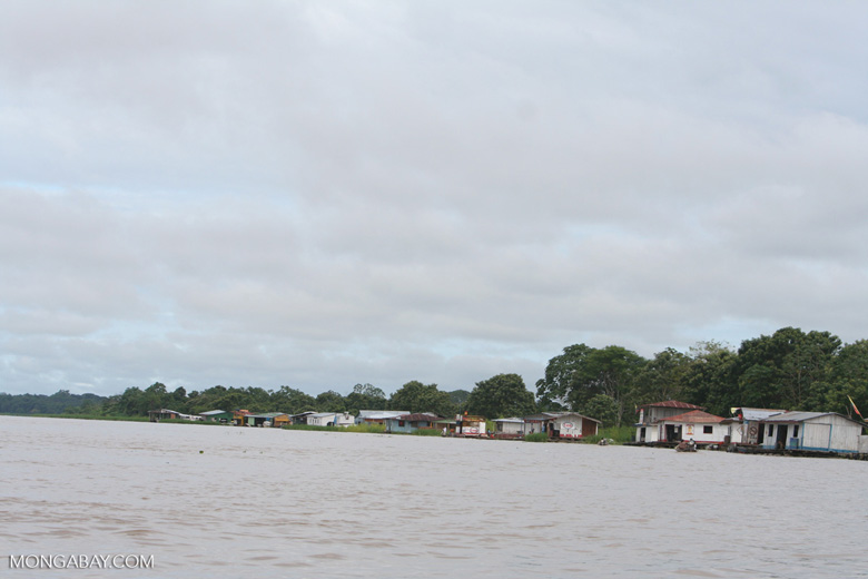 Outskirts of Leticia, on the Amazon river