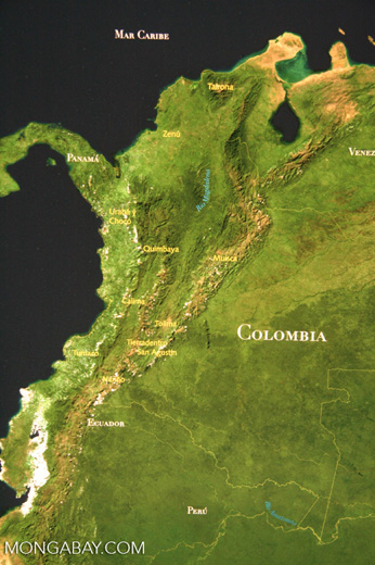 Ancient cultures in Colombia