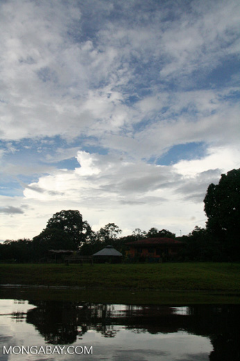 Ranch along the Amazon river