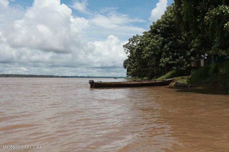 Boat on the Amazon