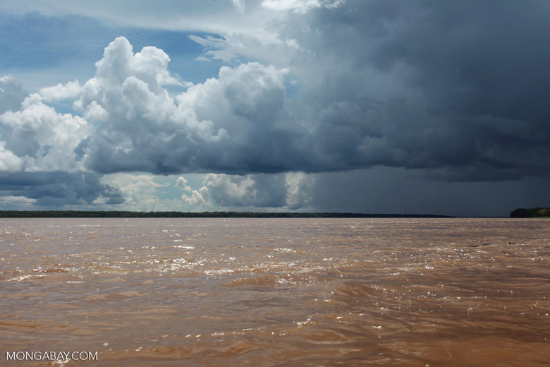 Storm over the Amazon river [colombia_0729]
