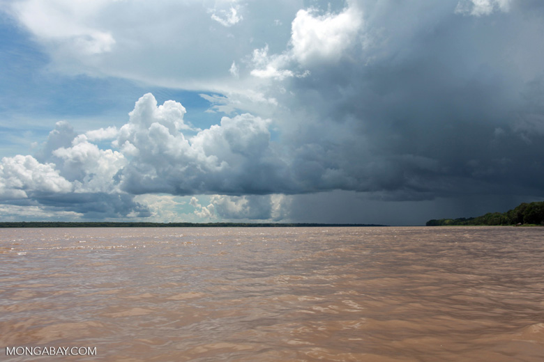 Storm over the Amazon river [colombia_0731]