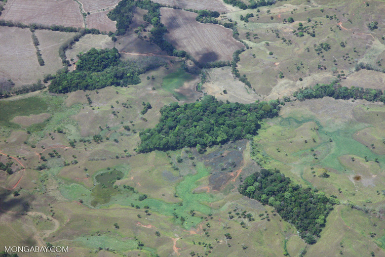 Aerial view of forest fragments in Costa Rica [costa-rica-d_0748]