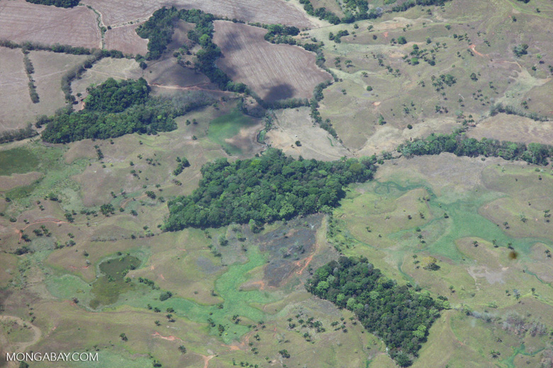 Aerial view of forest fragments in Costa Rica [costa-rica-d_0750]