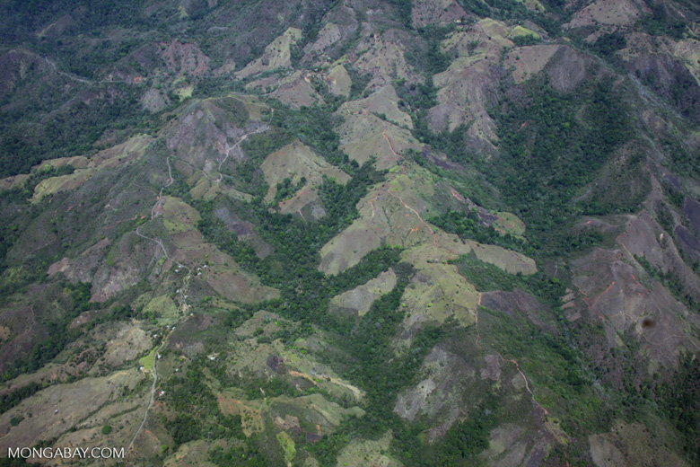 Aerial view of forest fragments in Costa Rica [costa-rica-d_0786]