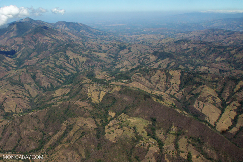 Aerial view of forest fragments in Costa Rica [costa-rica-d_0789]