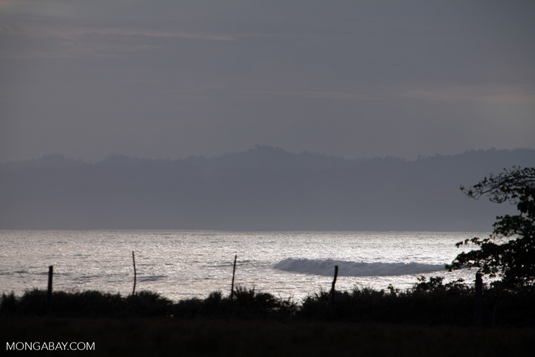 Waves near Cabo Matapalo
