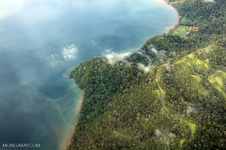 Overhead view of rain forest in Costa Rica [costa_rica_aerial_0369]