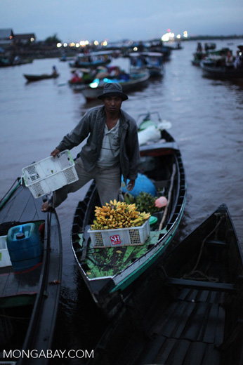 Floating market in Banjarmasin [kalsel_0195]