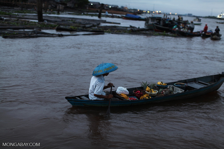 Floating market in Banjarmasin [kalsel_0191]