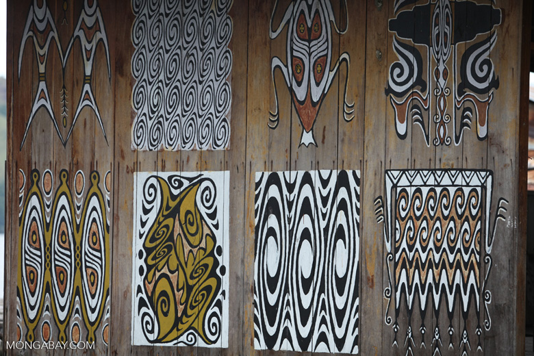 Sentani bark paintings