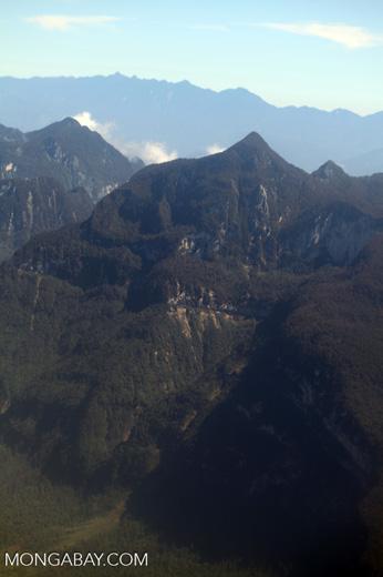 Jungle mountains near Wamena