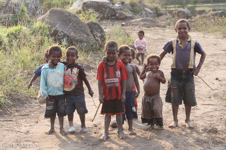 Papuan kids