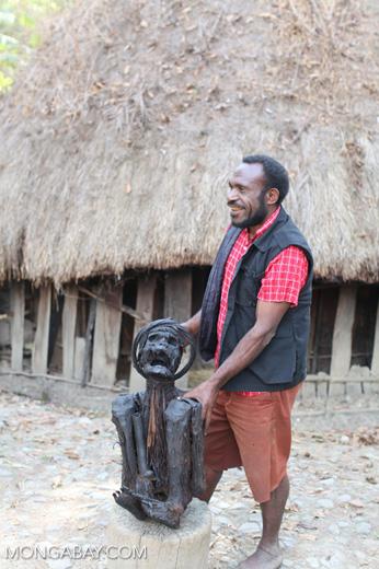 Papua mummy