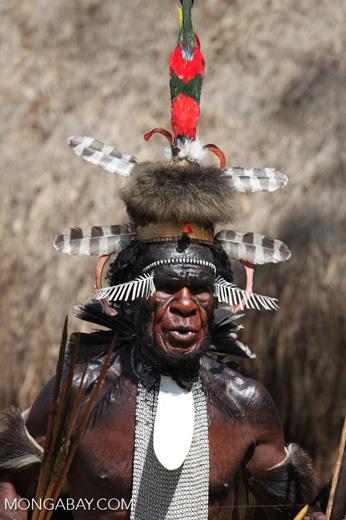 Dani chief or 'big man'
