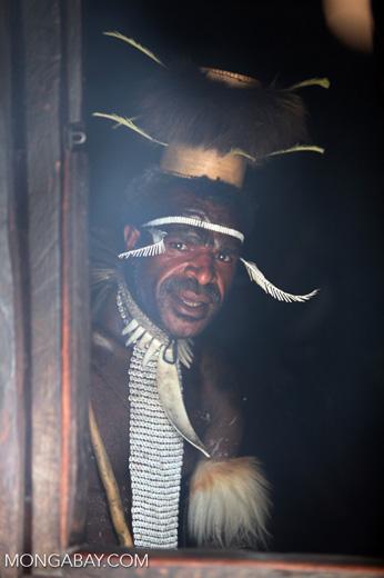 Papuan 'big man'