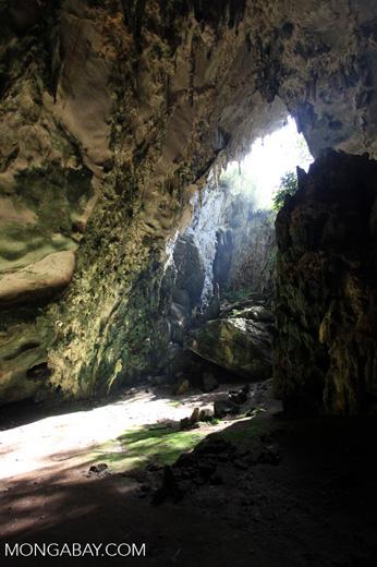Cave near Mili Mountain