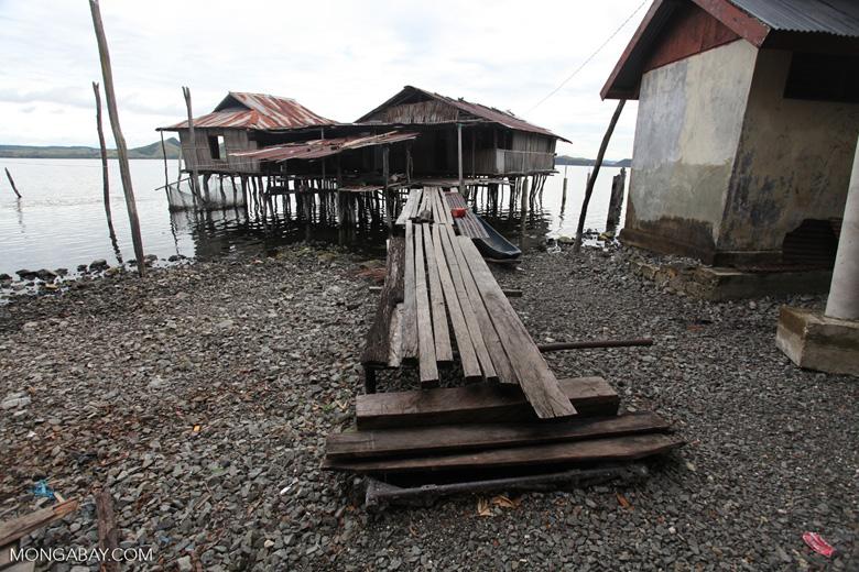 Houses on Lake Sentani