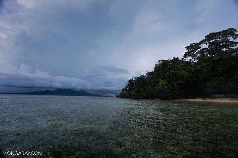 Crustal clear waters of Bunaken National Marine Park