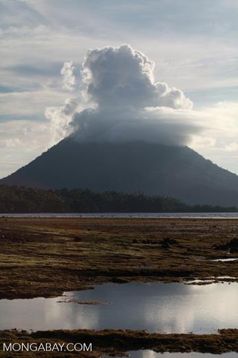 Manado Tua volcano