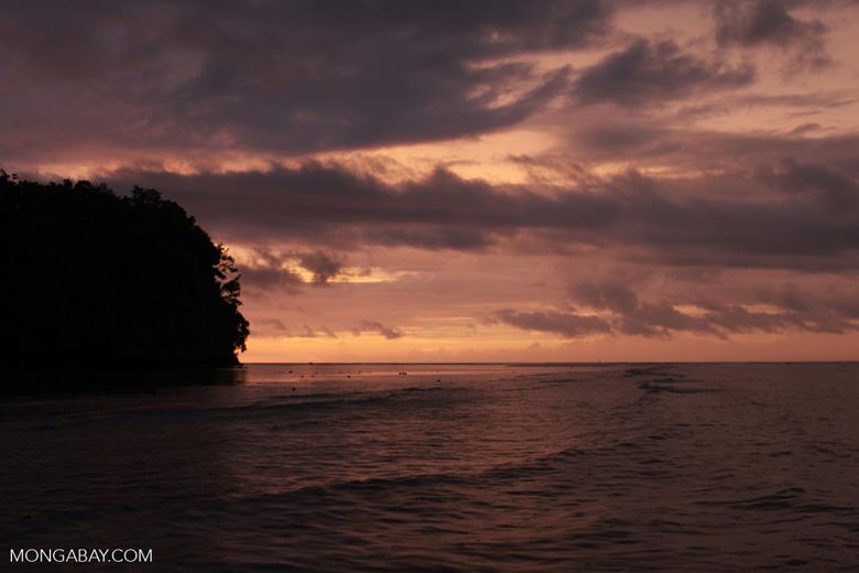 Sundown in Sulawesi