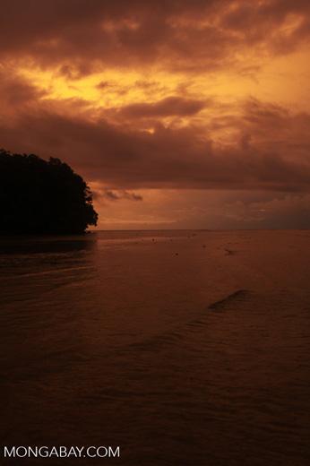 Indonesia sunset