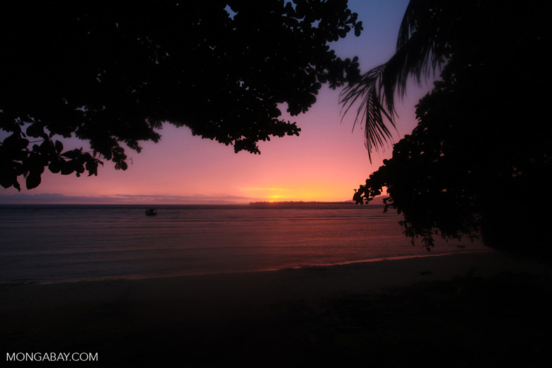 Bunaken sunrise