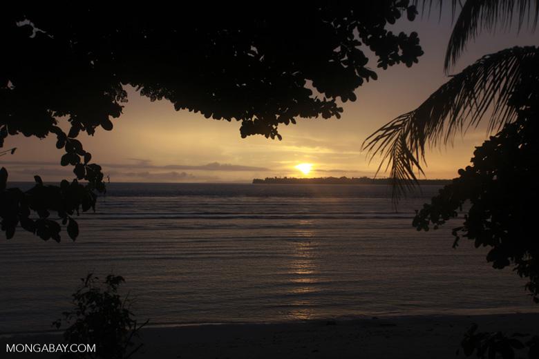 Dawn on Bunaken